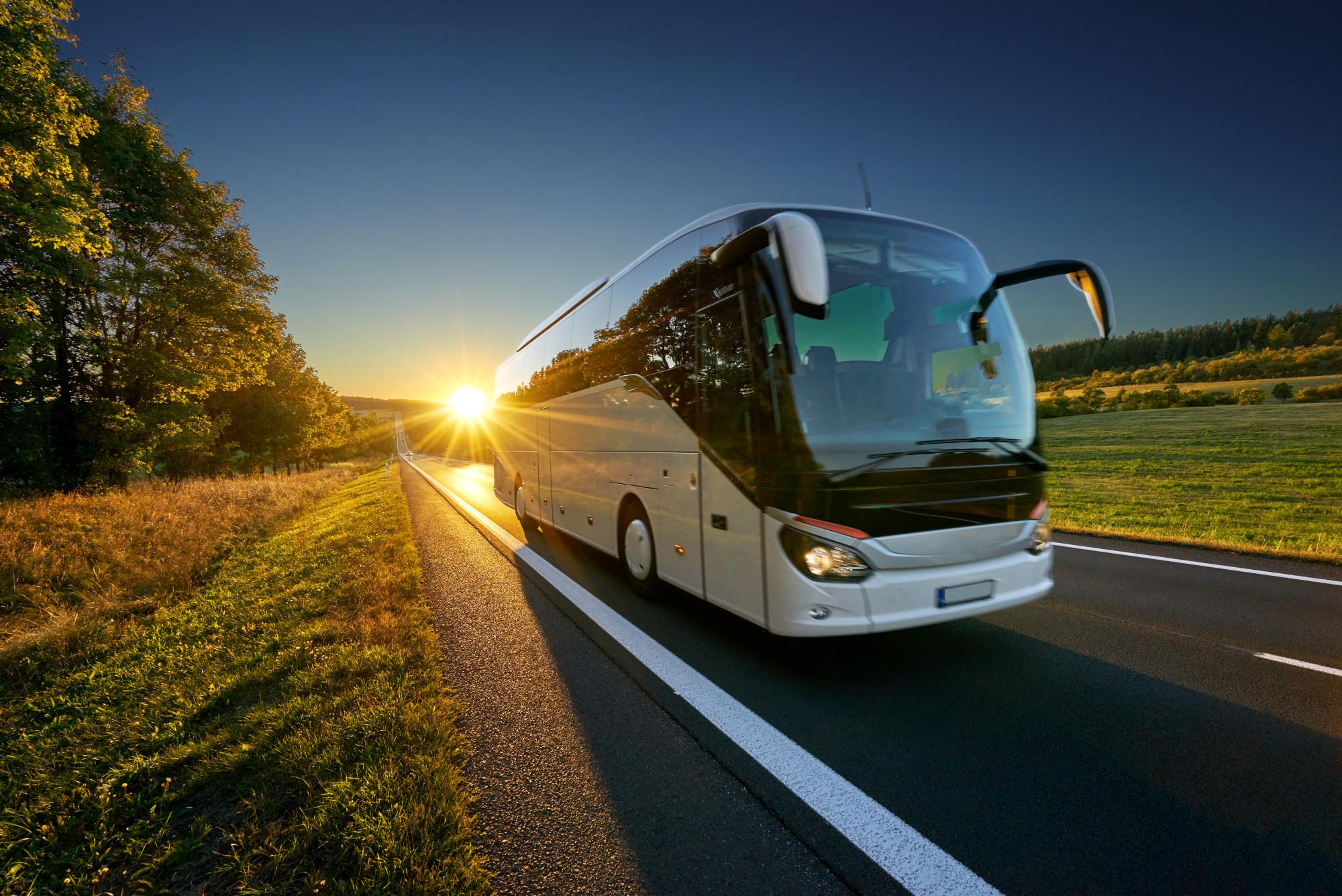 Keleiviniu autobusu nuoma